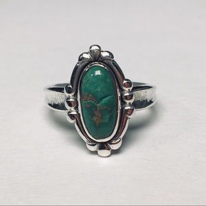 Jewelry - Native American Sterling Silver Stone Ring